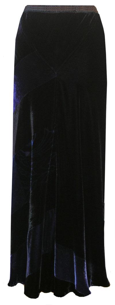Rich lustre Velvet skirt