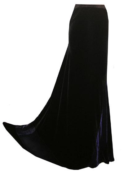 Patchwork Slim Bias Skirt