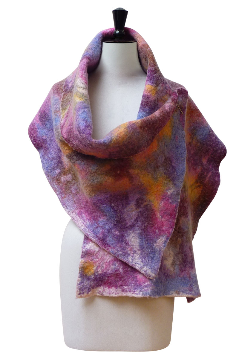 luxury felted comfort shawl-4115