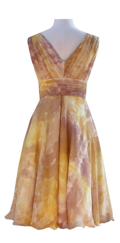 Autumn Gold Jessica Dress & Jacket-4683