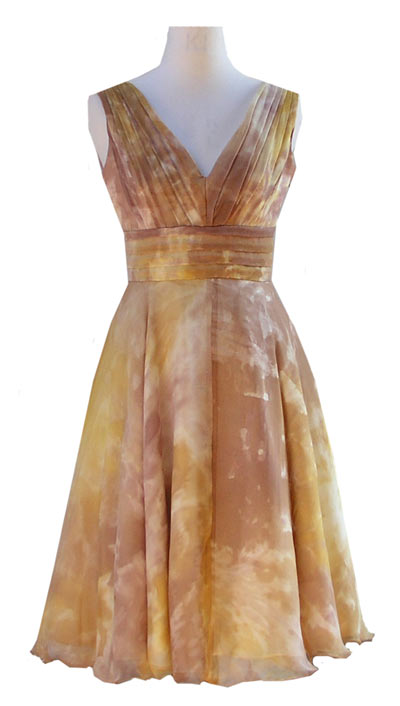 Autumn Gold Jessica Dress & Jacket-4684