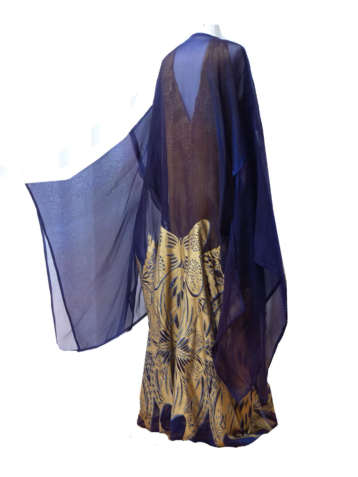 Silk Organza Kimono-4916
