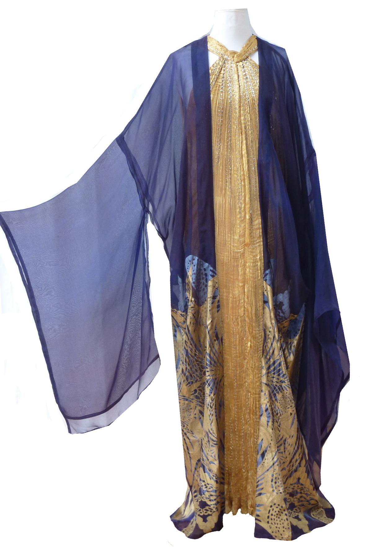 Silk Organza Kimono-4915