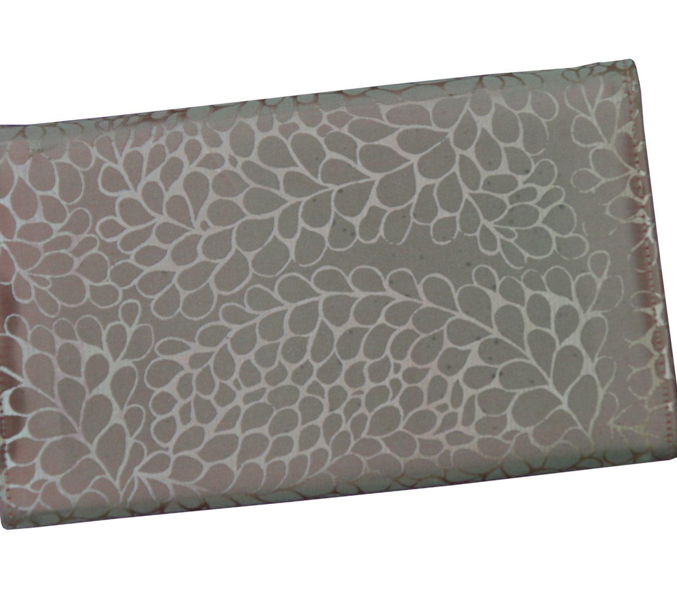 Taffeta silk evening clutch-6486