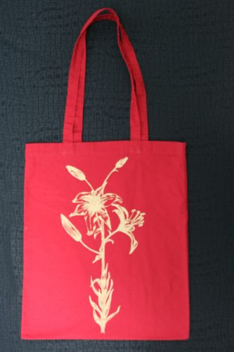 Red Bag Lily print-6927
