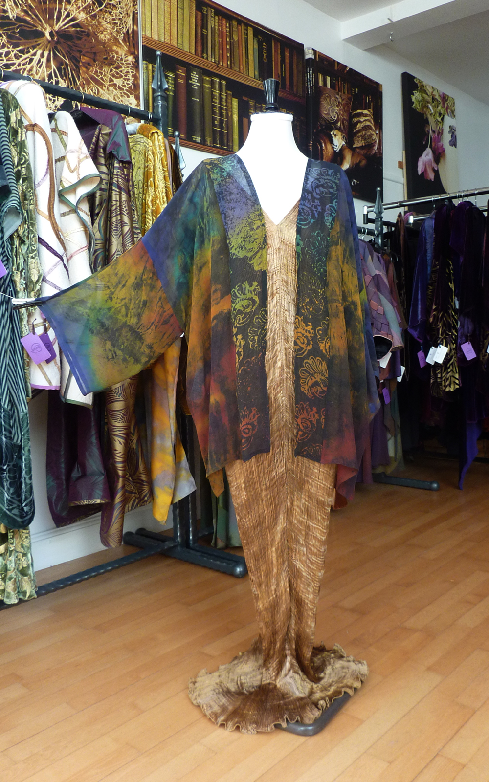 Transparent summer jacket-7010
