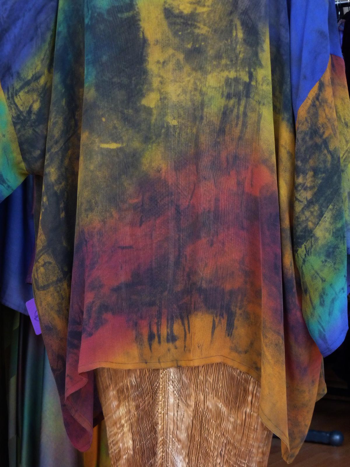 Transparent summer jacket-7008