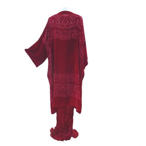 Square Coat in Ruby Red Mrs Ryder-Large (Remainder)