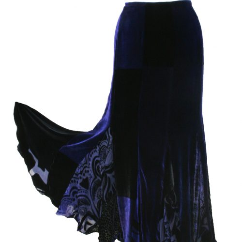 Panelled Flamenco Skirt
