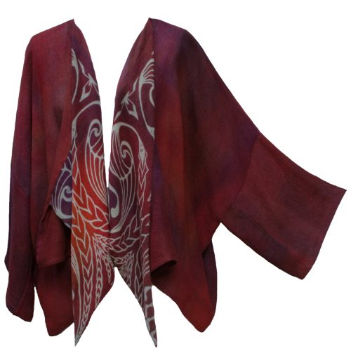 Waterfall Cardigan in Embers