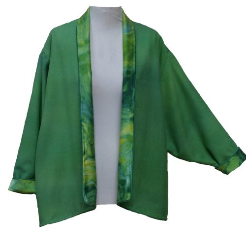 Driving Jacket in Green