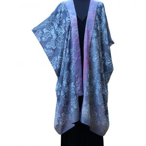 Coat in Ghostly Purple