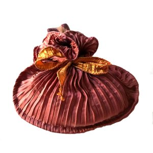 Hand Pleated Silk La...