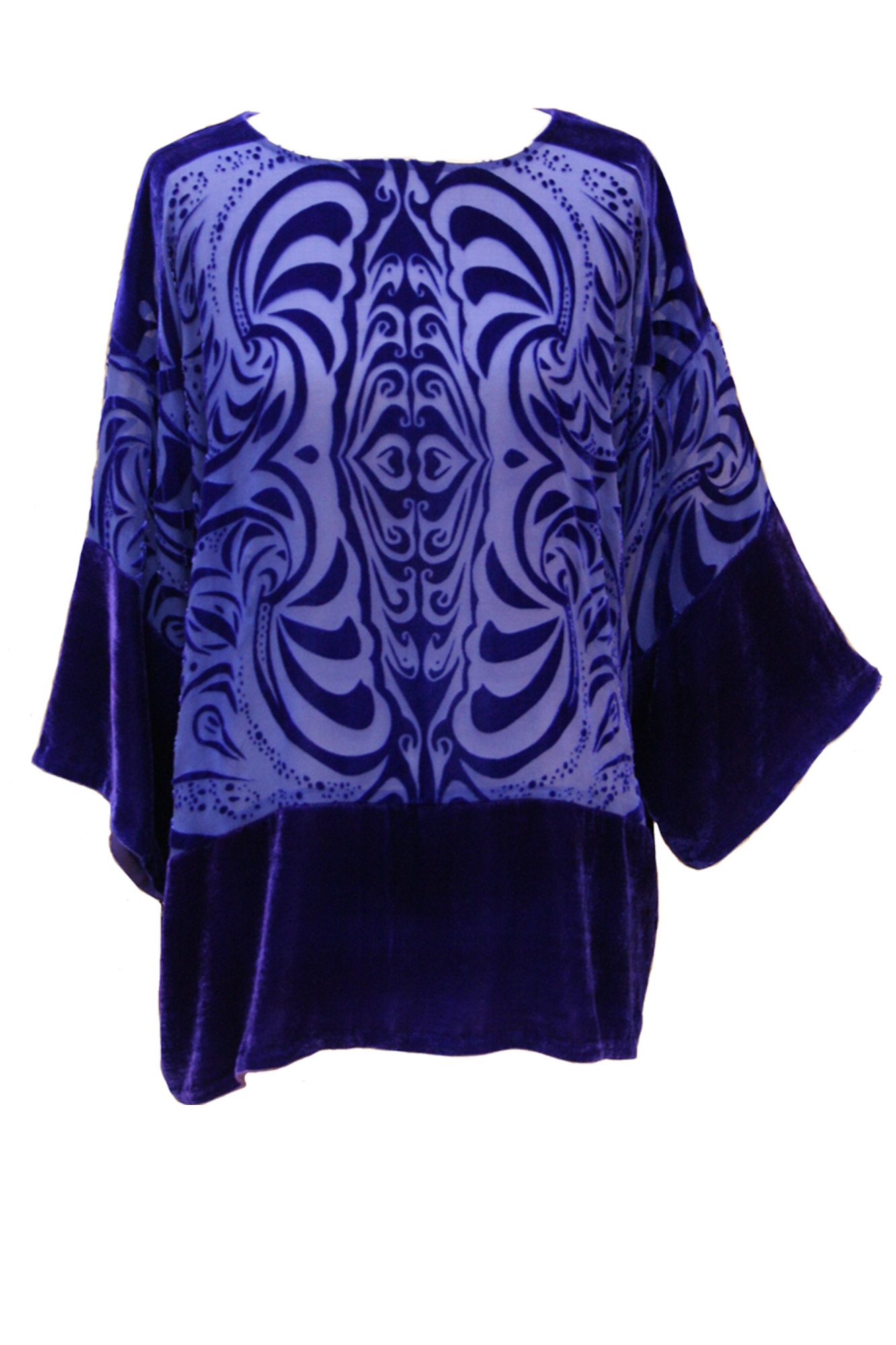 Luxury Silk and Velvet Tops