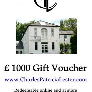 Gift Card / Voucher £1000