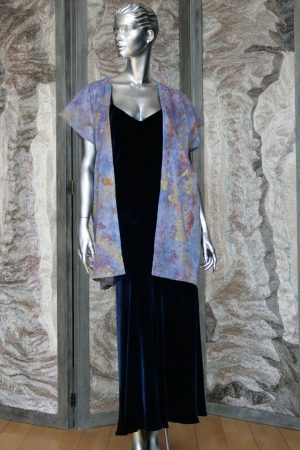 Sleeveless Jacket in Lavender